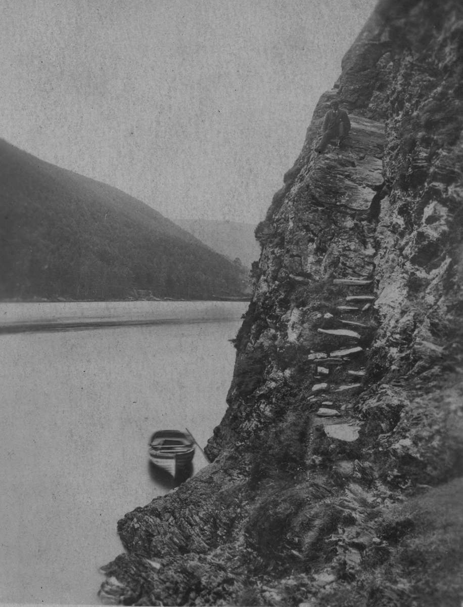 Morgan  //  County Dublin :: Man at Glendalough