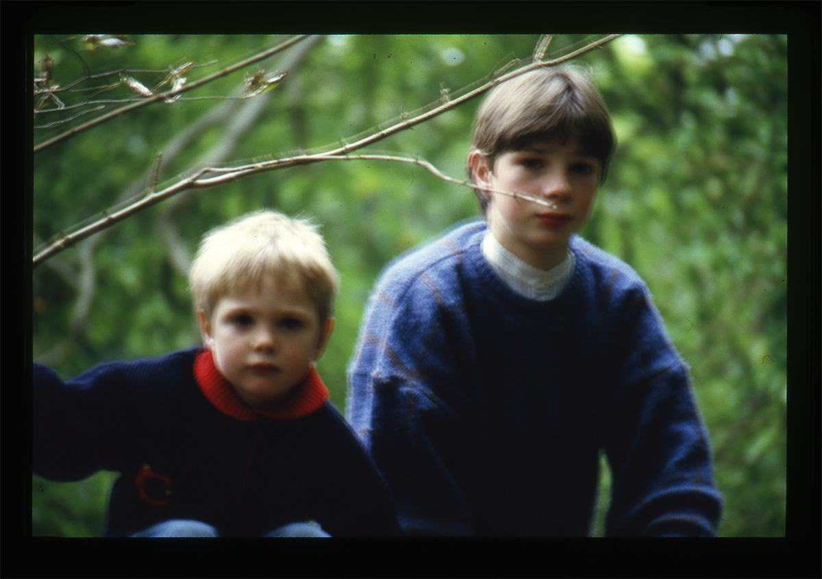 Declan Gilroy Archive // County Sligo :: Children through trees